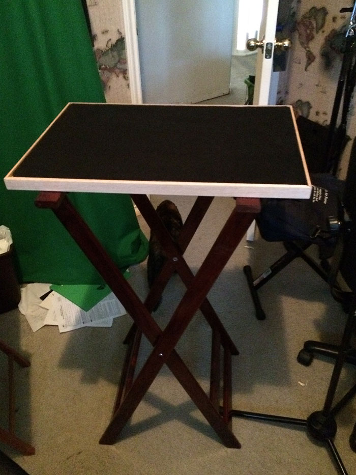 magician's busking table project